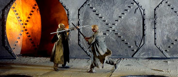 Siegfried de Wagner dans la mise en scène culte de Götz Friedrich (Berlin, 1985)