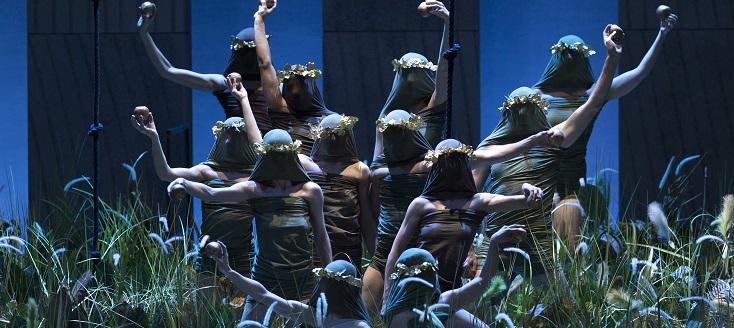 Der Ring des Nibelungen de Wagner, mis en scène par Rosamund Gilmore à Leipzig
