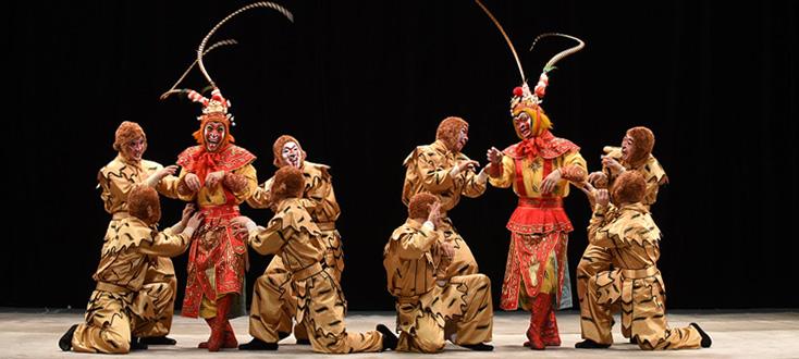 Le beau Roi Singe, au Festival des opéras traditionnels chinois, Malakoff, 2016