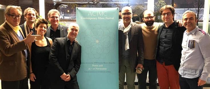 créations de pièces d'Abedian, Vetrano et Wijnand par le Sonar Trio