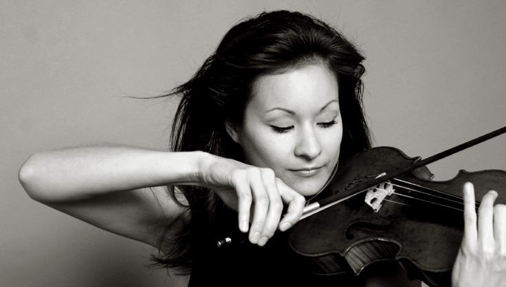 la violoniste Arabella Steinbacher photographiée par Robert Vano