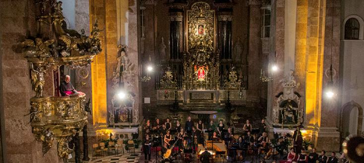 à la Cathédrale d'Innsbruck, Alessandro De Marchi joue Stradella