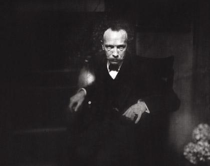 Richard Strauss (1864-1949) photographié par Edward Steichen en 1905