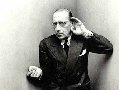 Igor Stravinsky photographié en 1948 à New York par Irving Penn