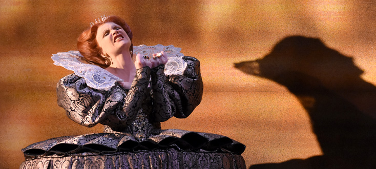 Carmen Giannattasio chante Elisabeth, reine d'Angleterre