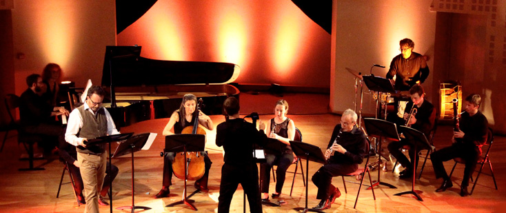 L'ensemble Sturm und Klang joue Webern, Poulenc et Lenot