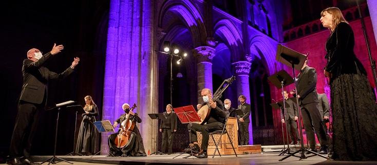 """Joël Suhubiette dirige l'Ensemble Jacques Moderne aux """"Concerts d'automne"""""""