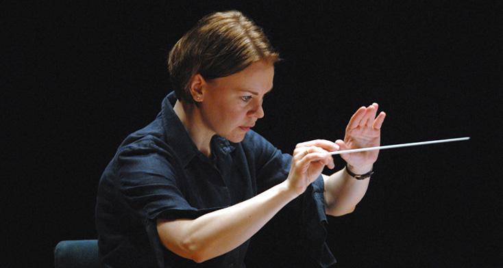 la cheffe finlandaise Susanna Mällki photographiée par Aymeric Warmé-Janville