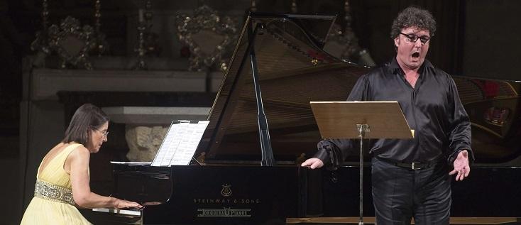 La baryton  Ludovic Tézier, en récital au Festival Castell Peralada 2019