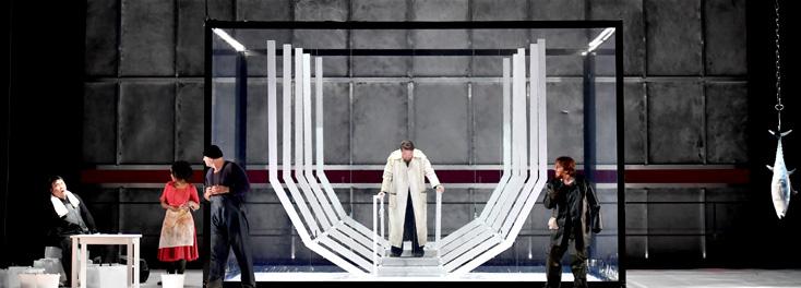 à Montpellier, Marie-Ève Signeyrole met en scène Il tabarro de Puccini