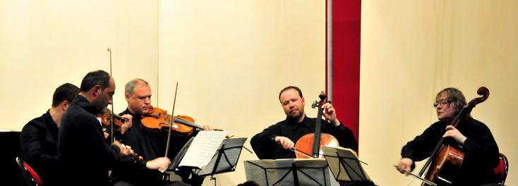 Alexander Kniazev et le Quatuor Talich au Festival international de Colmar 2014