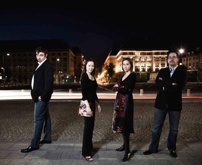 Le Quatuor Tana joue Carter et Glass à La Folle Journée de Nantes
