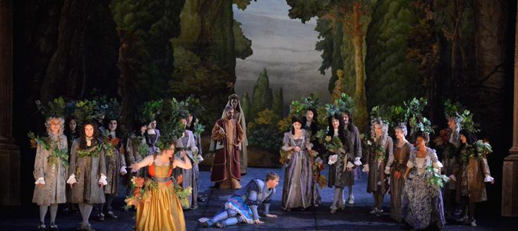 Tancrède, tragédie lyrique de Campra, vue à l'Opéra d'Avignon le 13 avril 2014