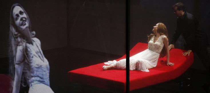 Tannhäuser, opéra de Richard Wagner, au MUPA de Budapest, juin 2012