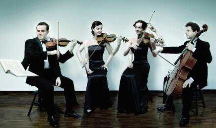 le Quatuor Terpsycordes se produit au Zermatt Festival 2007