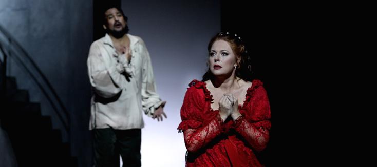 Martina Serafin est Floria Tosca à l'Opéra de Monte-Carlo (16 novembre 2015)