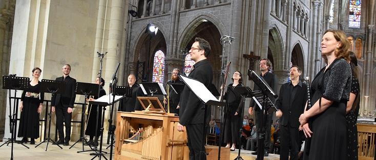 Les Traversées Baroques, en concert à l'Abbaye de Saint-Michel en Thiérache