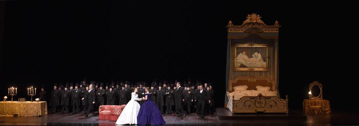 La traviata (Verdi) à Bastille : reprise de la mise en scène de Benoît Jacquot