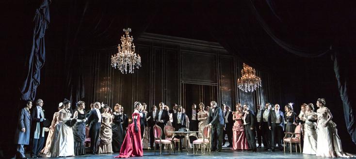 Yunus Durukan photographie La Traviata (Verdi) de McVicar à Genève