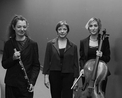Les dames du Trio Salzedo jouent Tôn-Thât Tiêt au concert et sur disque