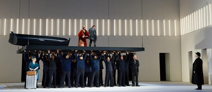 """une nouvelle production de """"Tristan und Isolde"""" à l'Opéra de Francfort...."""