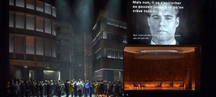 """Nouvelle production des """"Troyens"""" de Berlioz à l'Opéra Bastille"""