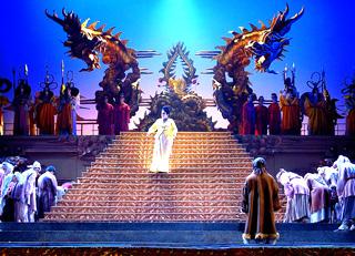 Maria Dragoni est Turandot (Puccini) à l'Opéra de Toulon