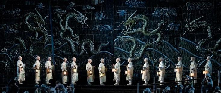 énième reprise de la Turandot de Zeffirelli aux Arènes de Vérone