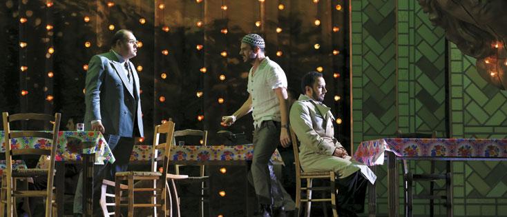 à l'Opéra de Dijon, nouvelle production du Turco in Italia de Rossini (2016)