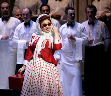 Il Turco in Italia (Rossini) par Tobias Richter à l'Opéra de Lausanne