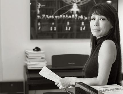 Unsuk Chin, compositrice fêtée par l'édition 2015 du Festival d'automne à Paris
