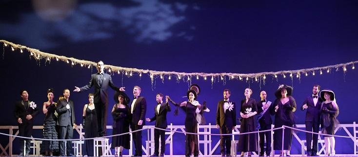 Il viaggio a Reims par Emilio Sagi au Rossini Opera Festival de Pesaro