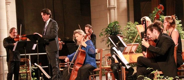 Au trente-deuxième Festival de Laon, Carlo Vistoli chante Händel et Vivaldi