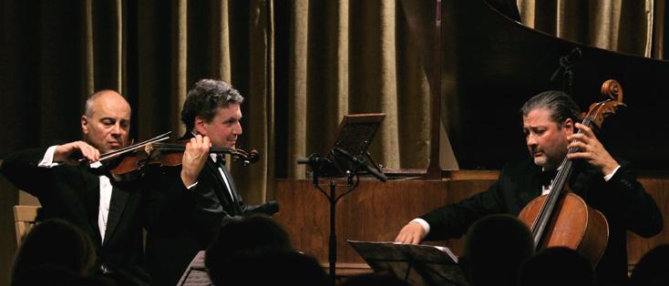 le Trio Voces Intimae joue Théodore Gouvy au Palazzetto Bru Zane (Venise)