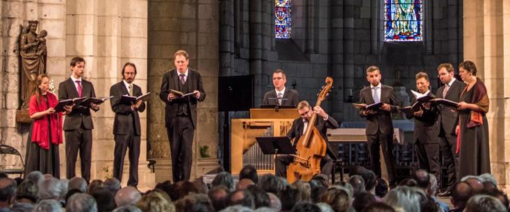 Vox Luminis au Festival de Saintes, le 14 juillet 2017