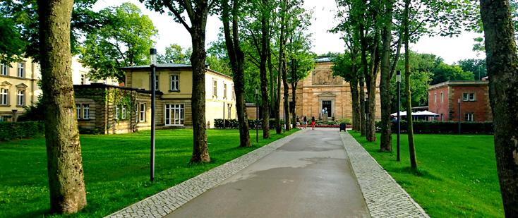 Villa Wahnfried, la maison de Wagner à Bayreuth © Bertrand Bolognesi 2017