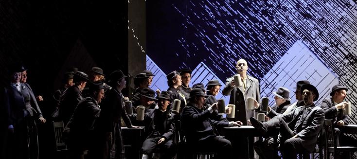 La Wally de Catalani, mis en scène par Aron Stiehl à la Volksoper de Vienne