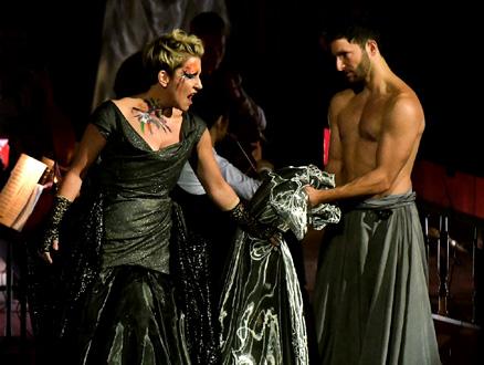 Le mezzo-soprano Joyce DiDonato et le danseur Manuel Palazzo
