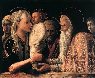 "Andrea Mantegna, ""Presentazione al tempio"", 1460 © Kurt Schäff, Berlin 2009"