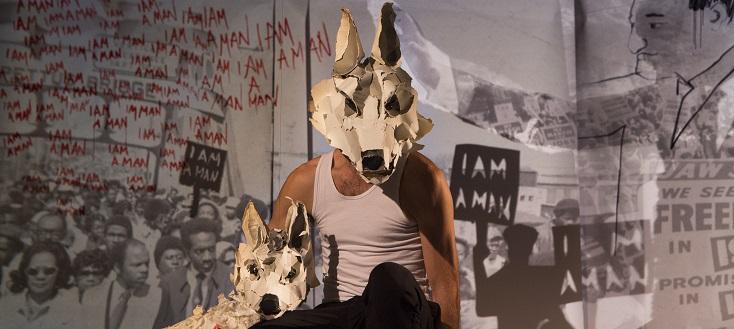 White Dog, d'après Romain Gary, par la compagnie Les Anges au Plafond
