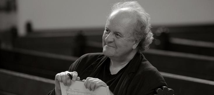 le compositeur allemand Wolfgang Rihm, photographié par Kai Bienert