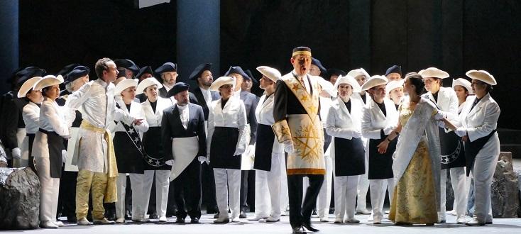 "Numa Sadoul met en scène ""Die Zauberflöte"" (Mozart) à l'Opéra de Marseille"