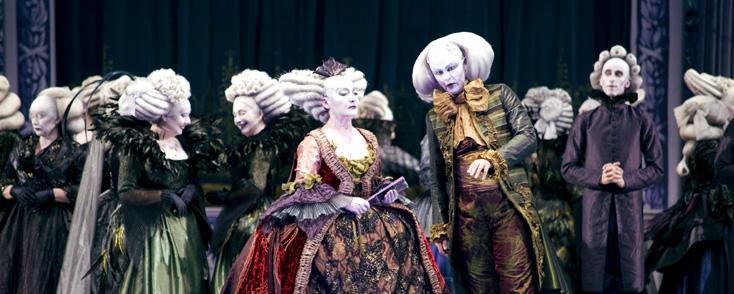 Mirco Magliocca photographie Andrea Chénier à l'Opéra Bastille