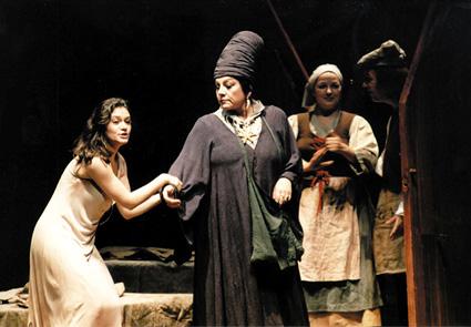L'Ange de feu, opéra de Prokofiev, à la Deutsche Oper dans le cadre des Berliner