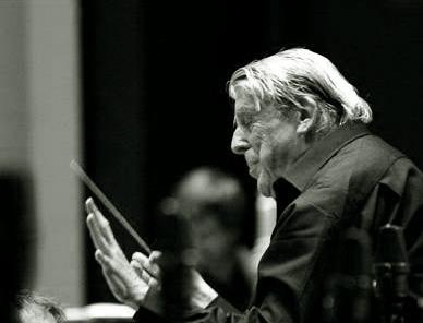 le chef d'orchestre Armin Jordan