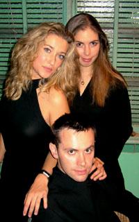 Stéphanie-Marie Degand, Laure Favre-Kahn et Alexis Descharmes par B. Bolognesi
