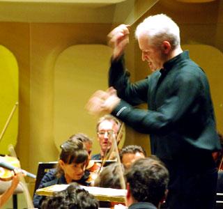 le chef et compositeur britannique George Benjamin par Christian Creutz