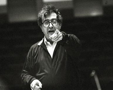 le compositeur italien Luciano Berio