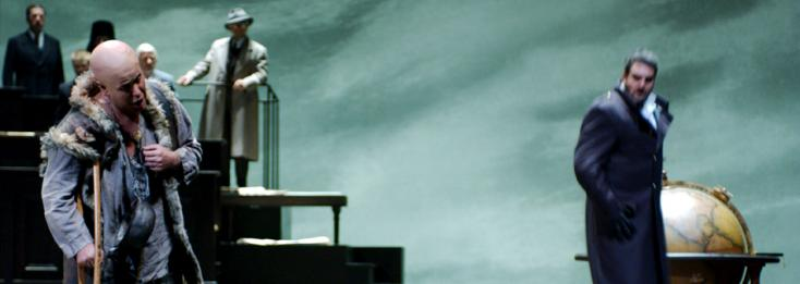 Pierre Strosser met en scène Boris Godounov (Moussorgski) à Genève