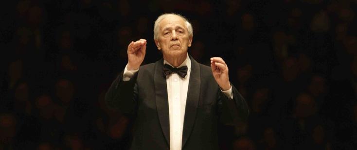 Pierre Boulez à la tête des Berliner Philharminer joue Webern, Bartók, Schönberg
